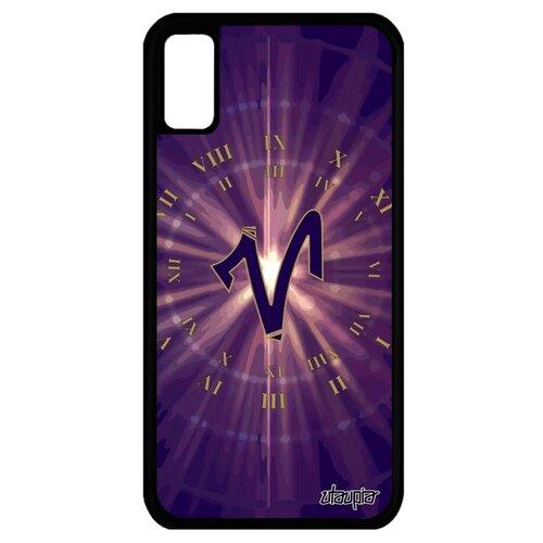 Чехол для Айфона X французский дизайн Гороскоп Зодиак Каллиграфия