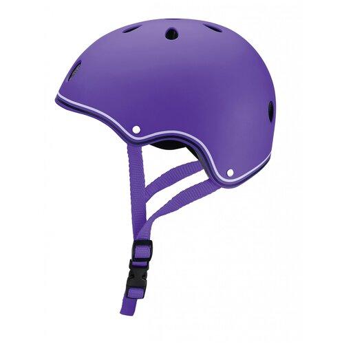 Фото - Шлем защитный GLOBBER Junior, р. XS, фиолетовый globber шлем globber evo lights