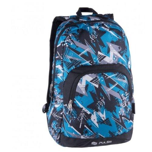 Рюкзак PULSE SOLO BLUE STORM, 44х29х18см pulse рюкзак pulse scate black dot