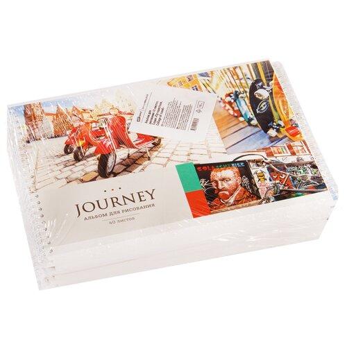 Купить Набор альбомов для рисования ArtSpace Путешествия. Collage of travel 28, 5 х 20, 3 см, 100 г/м², 40л. (10шт.), Альбомы для рисования