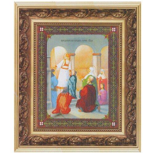 Купить Б-1085 Набор для вышивания бисером 'Чарівна Мить' 'Ик. Введение во храм Пресв. Богородицы', 27, 5*36, 9 см, Чарiвна мить, Наборы для вышивания