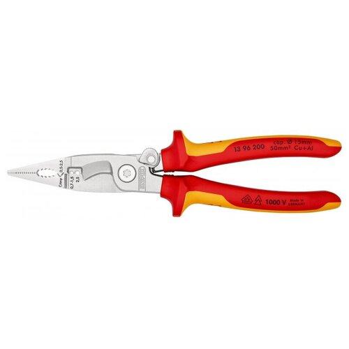 Стриппер Knipex 13 96 200 красный/желтый