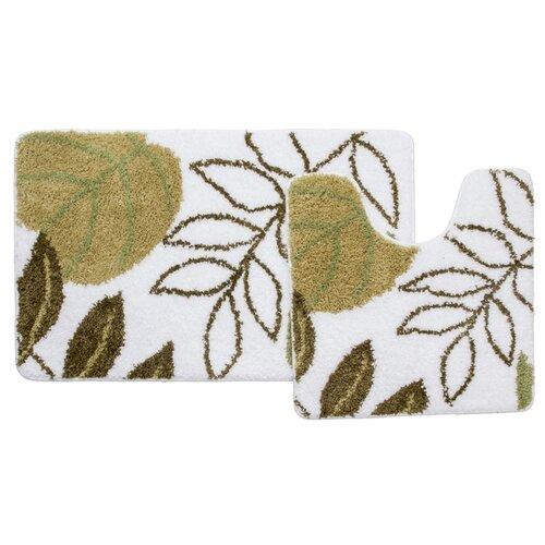 Фото - Набор ковриков для ванной комнаты Milardo Waiting for Spring 370PA68M13 50х80 50х50 см 242m590i13 набор ковриков для ванной комнаты 60х90 50х50 см микрофибра beige landscape id