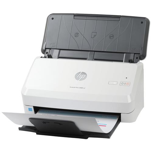 Сканер HP ScanJet Pro 2000 s2 белый