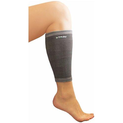 Защита голени ATEMI ANS-006, р. S, серый защита колена atemi ans 003 р xl серый