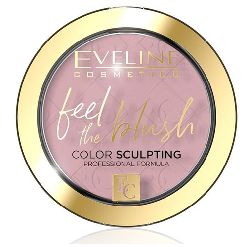Eveline Cosmetics Румяна для лица Feel the blush 01 peony
