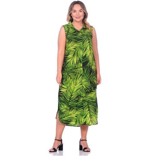 Фото - Платье - туника из вискозы Sunrise (PM France 221) размер M (46), тропик платье туника panicale платье туника