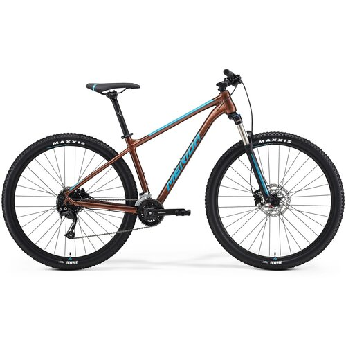 Фото - Горный (MTB) велосипед Merida Big.Nine 100-2x (2021) bronze/blue XXL (требует финальной сборки) велосипед merida ride cf team 2014
