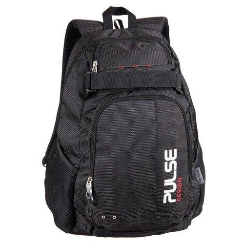 Рюкзак PULSE SCATE BLACK DOT, 48х36х23см pulse рюкзак pulse scate black dot