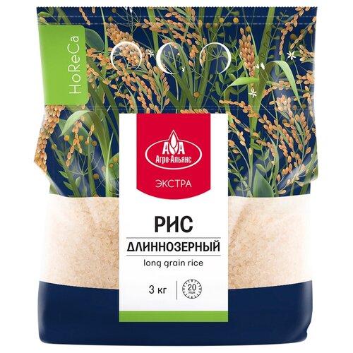 Фото - Рис Агро-Альянс элитный длиннозерный Экстра 3 кг крупа рис агро альянс 5пак 80г длиннозерный