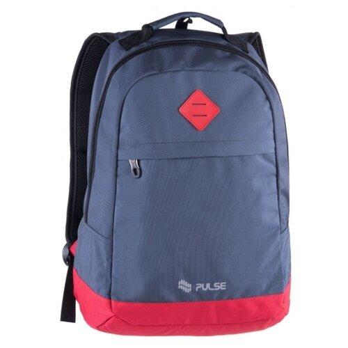 Рюкзак PULSE BICOLOR BLUE-RED, 46х32х15см pulse рюкзак pulse scate black dot