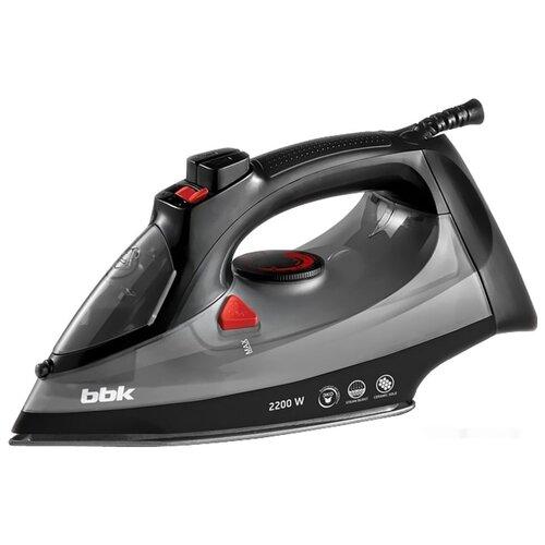 Утюг BBK ISE-2202 черный/серый