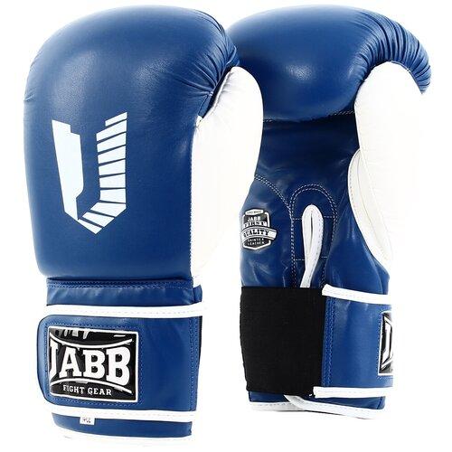 Перчатки бокс.(иск.кожа) Jabb JE-4056/Eu 56 синий 12ун.