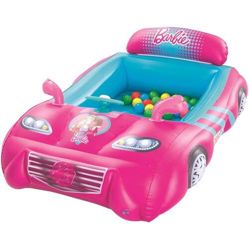 Фото - BESTWAY Игровой центр Машина с 25 шариками Barbie 135 х 99 х 43 см [93207] набор игровой barbie оздоровительный спа центр gjr84