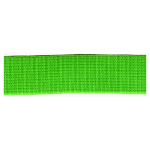Купить Резинка неоновая, 21 мм, цвет зеленый 78 % полиэстр, 22% латекс, PEGA, Технические ленты и тесьма