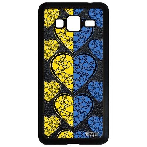 Фото - Чехол для телефона Samsung Galaxy J3 2016, Флаг Украины с сердцем Страна Путешествие чехол with love moscow w003969sam для samsung galaxy j3 2016 девушка с вином