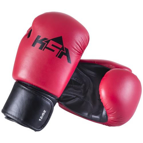 Перчатки боксерские Spider Red, кз, 10 oz, УТ-00017812