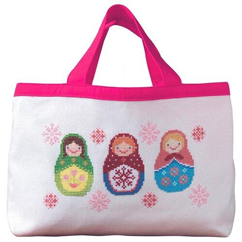 Купить Набор для вышивания сумки Матрёшки XIU Crafts 2860209, Наборы для вышивания