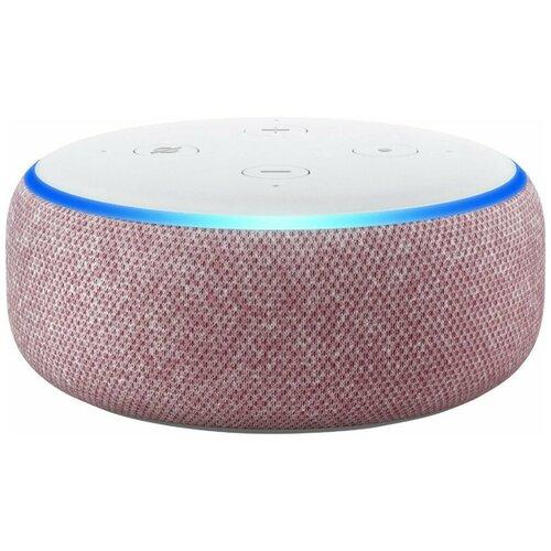 Умная колонка Amazon Echo Dot 3rd Gen plum