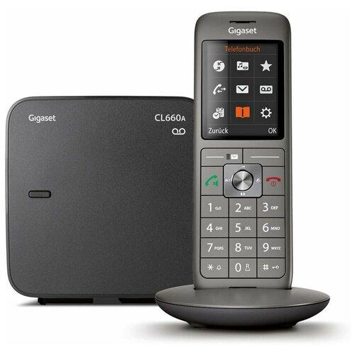 Фото - Радиотелефон Gigaset CL660A anthracite радиотелефон gigaset cl660a черный