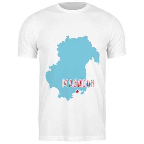 Футболка классическая Магаданская область. Магадан #2193568 (цвет: БЕЛЫЙ, пол: МУЖ, качество: ЭКОНОМ, размер: S)
