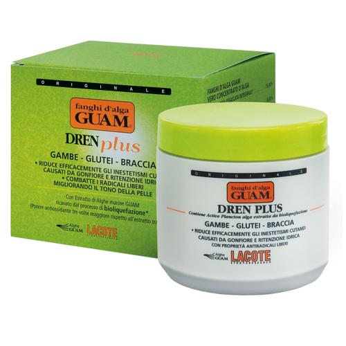 Купить Guam маска Fanghi D'alga антицеллюлитная с дренажным эффектом Dren Plus 500 г