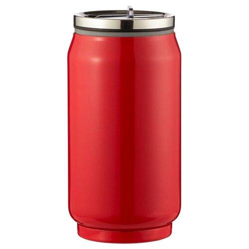 Термокружка Lux-souvenir Термобанка, 0.33л красный