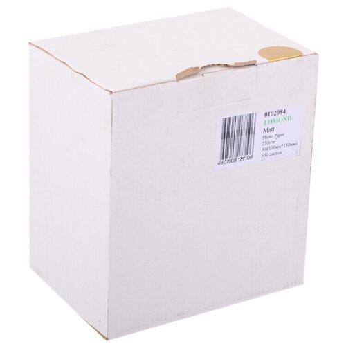 Фото - Бумага Lomond A6 Photo Paper 0102084 230 г/м² 500 лист., белый бумага lomond a6 0102082 230 г м2 500 лист