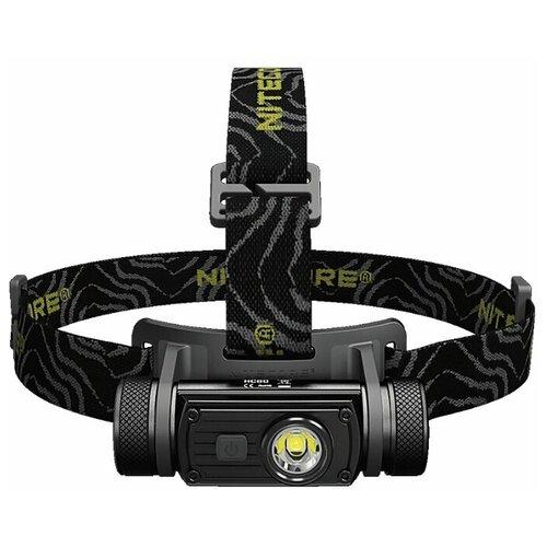 Фото - Налобный фонарь Nitecore HC60 черный тактический фонарь nitecore mh27 черный