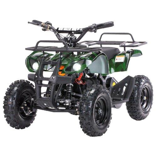 Купить MOTAX Квадроцикл Mini Grizlik X-16 1000W, зеленый камуфляж, Электромобили