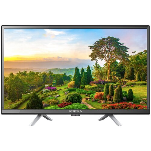 Телевизор SUPRA STV-LC24LT0075W 23.6, черный телевизор supra stv lc40lt0055f 40 черный