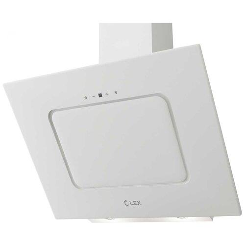 Каминная вытяжка LEX Luna 600 White недорого