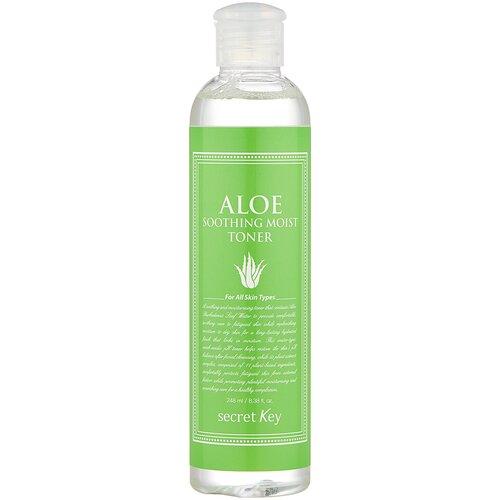 Купить Secret Key Тонер Aloe Soothing Moist, 248 мл