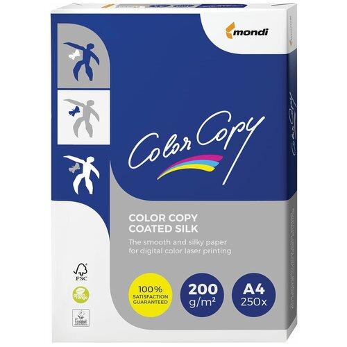 Фото - Бумага Color Copy A4 Coated Silk 200 г/м² 250 лист., белый бумага color copy a4 office 200 г м² 250 лист 5 пачк