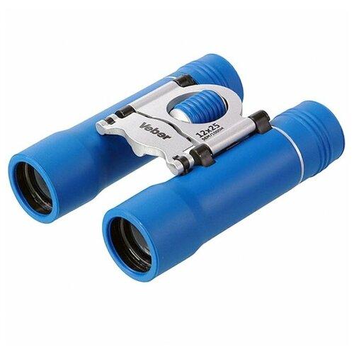 Фото - Бинокль Veber Sport БН 12х25 new синий/серебристый бинокль veber бн 10 25 new veber sport