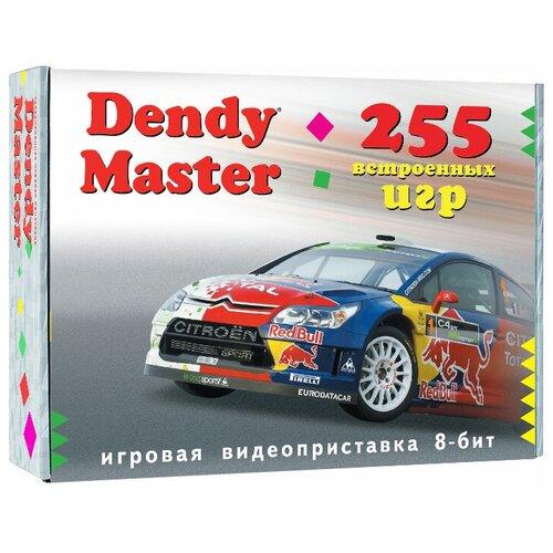 Игровая приставка Dendy Master 255 встроенных игр черный