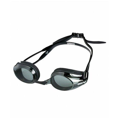 Фото - Очки для плавания arena Tracks 92341, black/smoke/black очки для плавания arena zoom neoprene 92279 black clear black