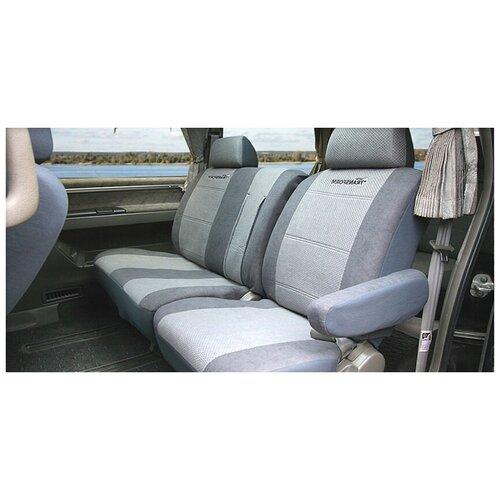 Чехлы на сиденья универсальные TRANSFORM, 9 предметов Autoprofi MPV-002 D.GY/L.GY