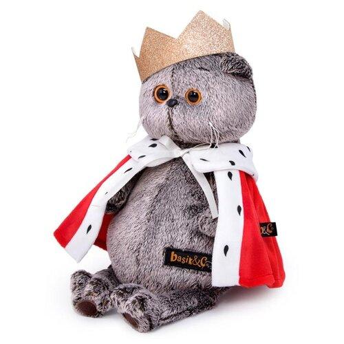 Купить Мягкая игрушка Basik&Ko Басик-царь , 25 см, Basik&Co, Мягкие игрушки