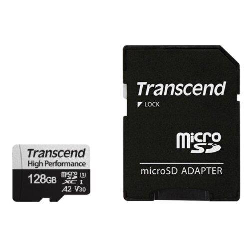 Фото - Карта памяти Transcend High Performance 330S 128 GB, чтение: 100 MB/s, адаптер на SD adidas performance men s nitrocharge 2 0 fg soccer shoe