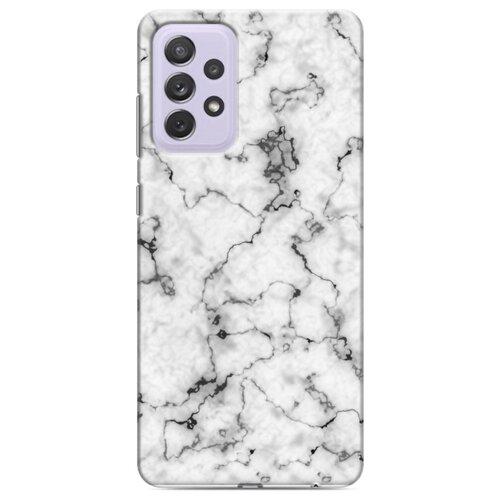 Дизайнерский пластиковый чехол для Samsung Galaxy A72 Мраморные тренды