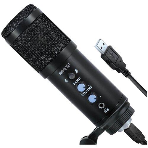 Микрофон HIPER Singer set (H-M004), черный