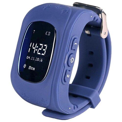 Детские умные часы Wokka Lokka Q50, темно-синий