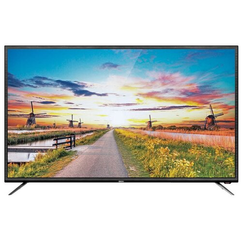 Фото - Телевизор BBK 55LEX-8127/UTS2C 55 (2019), черный бинокль konus basic 10x25 черный серый