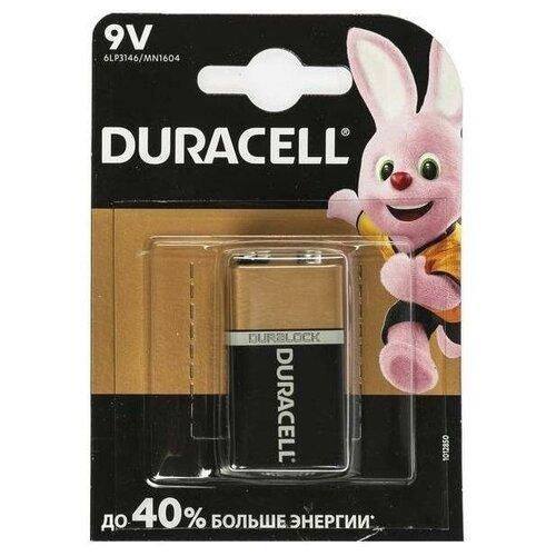 Фото - Батарейки Duracell 6LR61 Basic MN1604 6LF22 6LP3146 9V BL1 батарейки duracell activeair nugget box za675 da675 6bl
