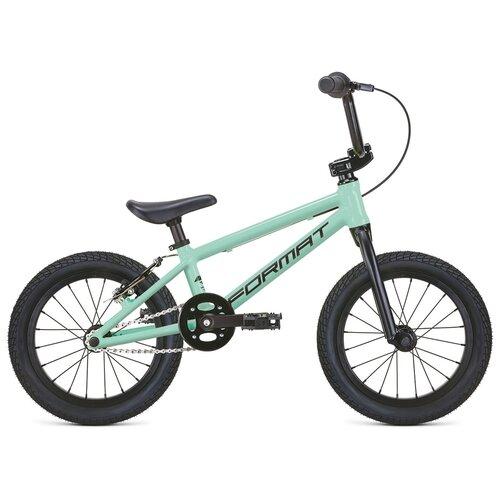 """Детский велосипед Format Kids BMX 16 (2021) морская волна 16"""" (требует финальной сборки)"""