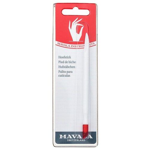 Купить Mavala Палочка для маникюра пластмассовая Hoofstick, 1 шт. белый/красный