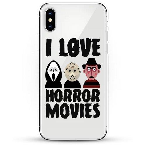 Силиконовый чехол Фильмы Ужасов на Apple iPhone Xs Max
