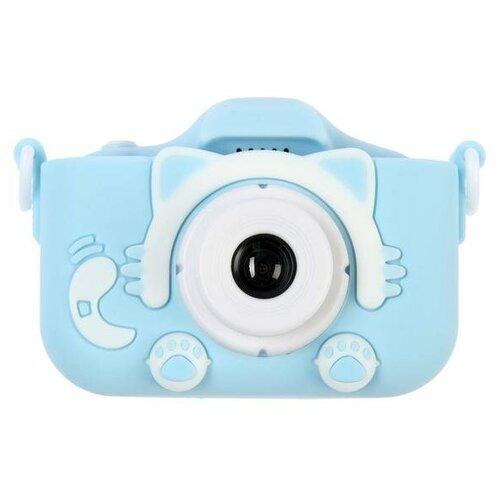 "Фотоаппарат Сима-ленд Cartoon Digital Camera Kitty ""Котик"" голубой"