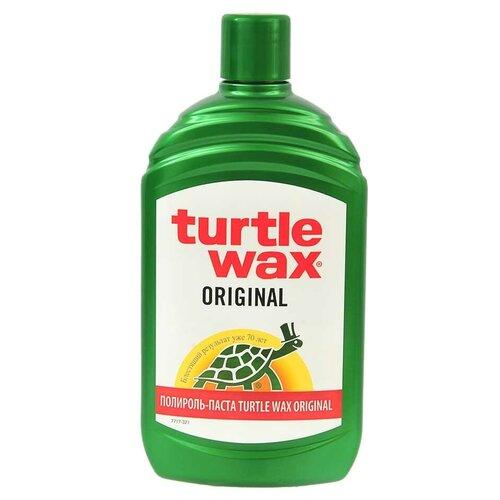 TURTLE WAX Полироль для кузова TURTLEWAX ORIGINAL 500 мл turtle wax полироль для кузова renew polish 0 5 л